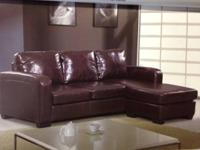 Holiday season Big Sale Leather Sectional set    Home &