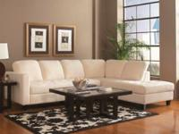BRAND NEW SECTIONAL SOFA AVAILABLE IN BEIGE OR