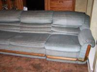 Bench Craft 4 piece sectional sofa.Two recliners and