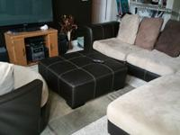 I am selling 2 piece Sectional + Swival chair +