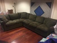 I am selling my like-new sectional on account that I am