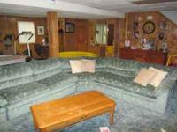We have a 3 piece sectional sleeper with 2 recliners.