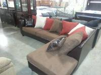 New Sectionals with Warranty! Blow Out Price....$595!