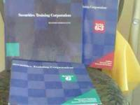 Securities training manuals for series 6, 7, and