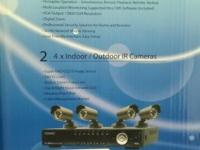 DVR Kit 4 Channels Full D-1 with 4 Cameras. Bullet Sony