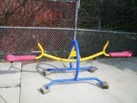 1 Year old See-Saw Great Shape Call Joe  or  Location: