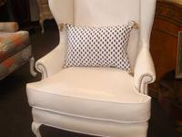 CUSTOM UPHOLSTERED AND PAINTED Luxury For Less in Ponte
