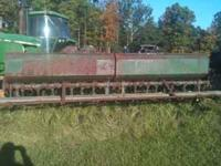11 Foot Marliss Seeder Contact me at . During the day