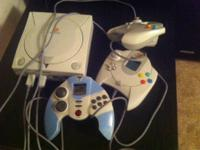 Have a sega dreamcast with about 12 games and memory