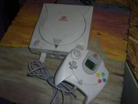 Used Sega brand Dreamcast video game console Works