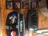 Offering my Sega Game Gear, case, and 8 video games.
