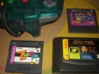 Sega Game Gear Super Columns, Sega Game Gear Zoop, Sega