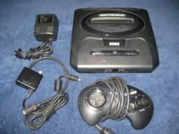 SEGA GENESIS version 2 console with power adapter, RF