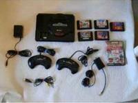 Sega Genesis System Video Game Console (Original Model)