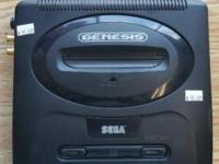 This Sega Genesis model 2 has been professionally