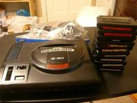 Sega Genesis model 1 system with all hookups, 2