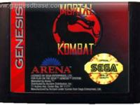sega genisis mortal kombat the first one that started