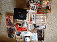 I'm selling my lot of sega Saturn stuff. List of