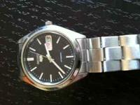 im selling a kinetic seiko watch that is powered by