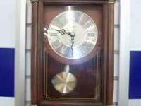 This beautiful mantle clock will add to any houses