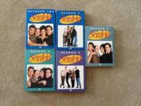 Seinfeld seasons 1-6 in very good condition, comes with