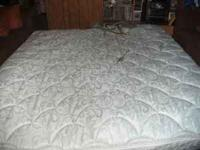 This is a king size air matress with compresor included