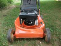 Have a Hechinger Self propeled push mower. It has a 5hp