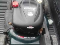 3n1 self propelled push mower 6 horse runs great it