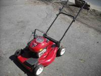 Nice Craftsman Mower, Ready to Mow. 6.5 Hp. Runs Good.