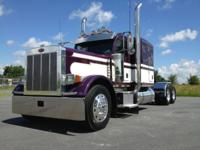Sell my 2007 Peterbilt 379 sleeper tractor, 270 inch