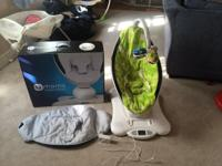 We have an excellent condition mamaroo with the box and