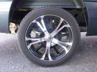 "I have 5 Panther 20"" 519 MB Vector Wheelies and 4"