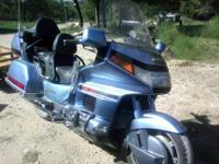Honda GL-1500 is a 1500 cc LOADED with Extras! Has its