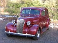 1937 chevy 2 door sedan. One of the most sought after