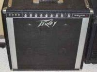 "I have a clean Peavey Deuce with 4 10"" speakers and new"