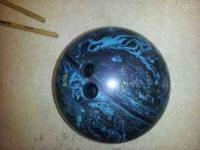 "Selling a ""Satellite by Ebonite"" 16lb bowling ball. Is"