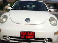 Hi there! I am selling my 2001 New Beetle because I am