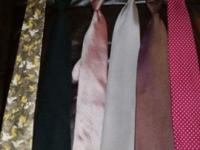 Selling 20 ties Mainly new Many brand names Pickup in
