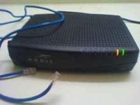 Selling a comcast arris tm722g/ct modem includes