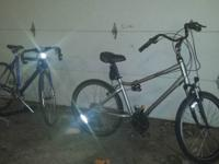 I am selling TWO BIKES. The first, is a GMC Denali 6061