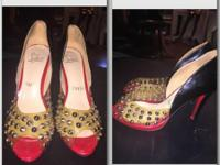Selling Authentic Christian Louboutin Heels size 38 eur