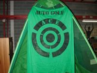 Selling a golf net. Come with hanging target sheet. and