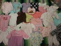 I an selling all my daughters infant cloths for