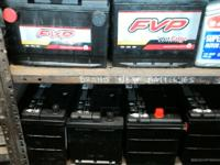 Brand new batteries for sale! price start at $65 plus