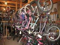 HAVE A GOOD SELECTION OF CHILDREN AND YOUTH BIKES FOR