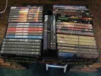 I am selling a bunch of DVDs (sorry-no blue-ray or