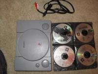 Selling a Playstation 1 console including the AV