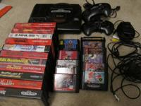 Selling a Sega Genesis with power adapter and 1 RF