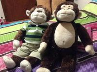 I am selling two monkey build a bears in great