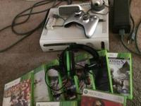 Selling my Xbox 360, has 9 games (which are in the